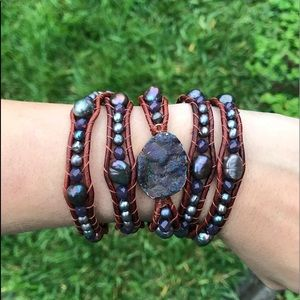 Accessories - Leather cord bracelet
